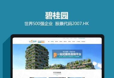 碧桂园地产营销品牌网站建设案例